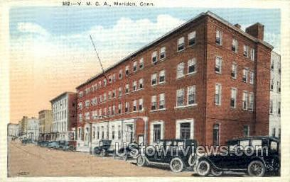 YMCA Builiding - Meriden, Connecticut CT Postcard