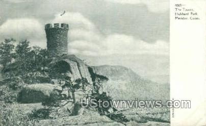 The Tower - Meriden, Connecticut CT Postcard