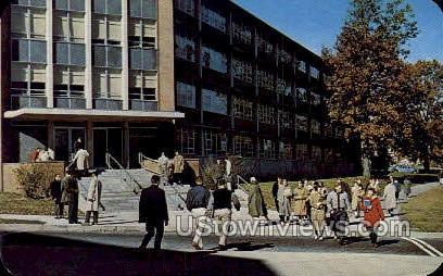 Changing Classes - Storrs, Connecticut CT Postcard