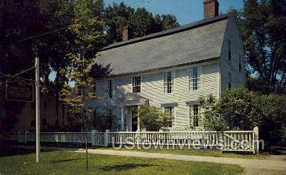 Webb House - Wethersfield, Connecticut CT Postcard
