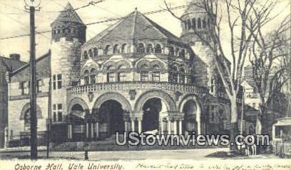 Osborne Hall, Yale University - New Haven, Connecticut CT Postcard