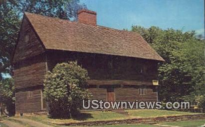 Buttolph-Williams House - Wethersfield, Connecticut CT Postcard
