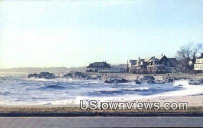 Anchor Beach - Milford, Connecticut CT Postcard