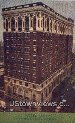 Hotel Taft - New Haven, Connecticut CT Postcard