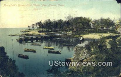 Mansfield Grove, East Shore - New Haven, Connecticut CT Postcard