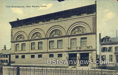 Yale Gymnasium - New Haven, Connecticut CT Postcard