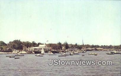 Milford Yacht Club - Connecticut CT Postcard