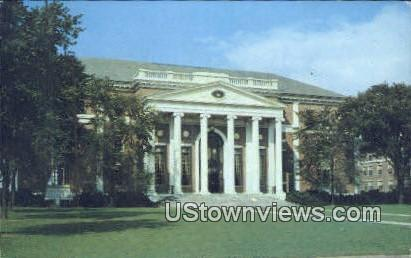 Wesleyan University Olin Memorial Library - Middletown, Connecticut CT Postcard
