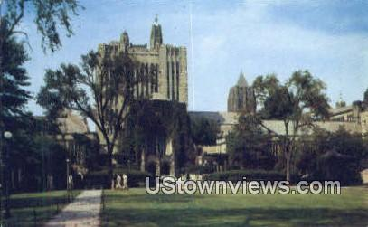 Sterling Memorial Library, Yale University - New Haven, Connecticut CT Postcard