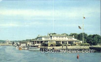 Indian Harbor Yacht Club - Greenwich, Connecticut CT Postcard
