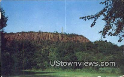 East Rock Park - New Haven, Connecticut CT Postcard