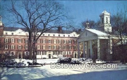 Yale University, Timothy Dwight College - New Haven, Connecticut CT Postcard