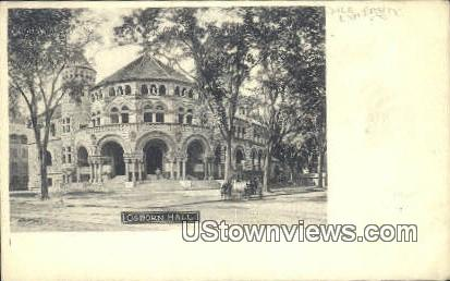 Osborn Hall, Yale University - New Haven, Connecticut CT Postcard