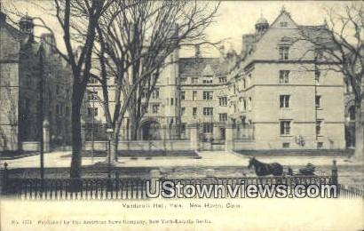 Vanderbilt Hall, Yale University - New Haven, Connecticut CT Postcard