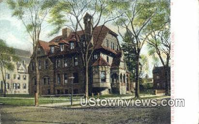 Cloister Club House - New Haven, Connecticut CT Postcard