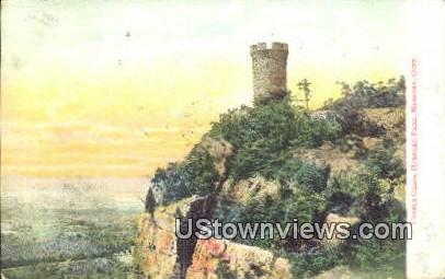 Castle Craig, Hubbard Park - Meriden, Connecticut CT Postcard