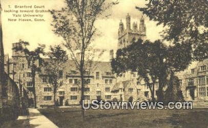 Branford Court, Yale University - New Haven, Connecticut CT Postcard