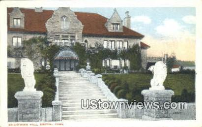 Brightwood Hall - Bristol, Connecticut CT Postcard