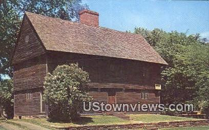 Buttolph Williams House - Wethersfield, Connecticut CT Postcard
