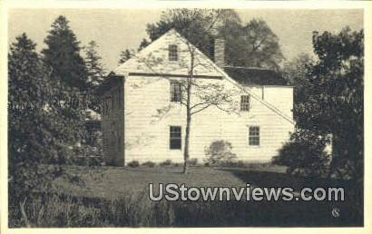 Eels Stowe House - Milford, Connecticut CT Postcard