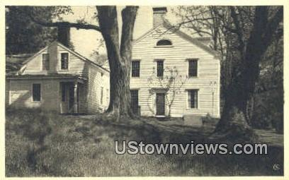 Seth Wetmore House - Middletown, Connecticut CT Postcard
