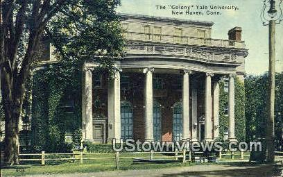 The Colony, Yale University - New Haven, Connecticut CT Postcard