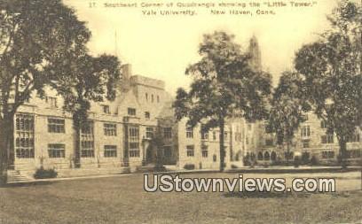 Little Tower, Yale University - New Haven, Connecticut CT Postcard