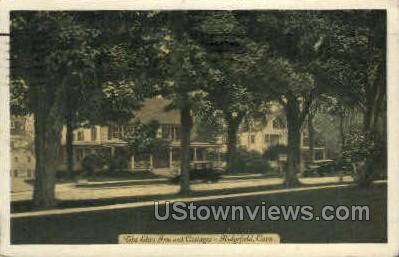 Elms Inn - Ridgefield, Connecticut CT Postcard