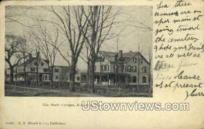 Elm Shade Cottages - Ridgefield, Connecticut CT Postcard