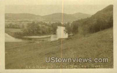 New Hampshire Hills River - Misc, Connecticut CT Postcard