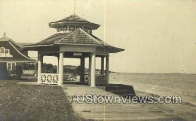 Real Photo Laurel Beach - Milford, Connecticut CT Postcard