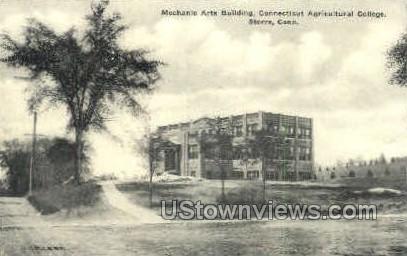 Storrs, CT, Conn, Connecticut Postcard