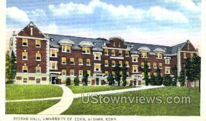 University of Connecticut - Storrs Postcard