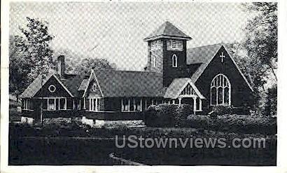 Congregational Church - Taftville, Connecticut CT Postcard