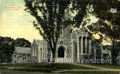 Congregational Church - Stamford, Connecticut CT Postcard