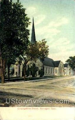 Congregational Church - Torrington, Connecticut CT Postcard