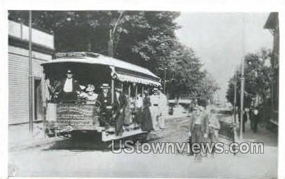 Reproduction - Trolley - Misc, Connecticut CT Postcard