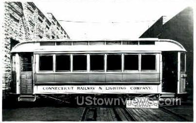 Ct Railway & Lighting Company - Misc, Connecticut CT Postcard
