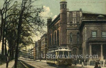 Sheffield Row - New Haven, Connecticut CT Postcard