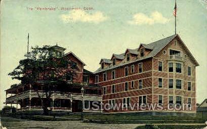 The Pembroke - Woodmont, Connecticut CT Postcard