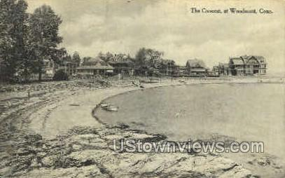 The Crescent - Woodmont, Connecticut CT Postcard