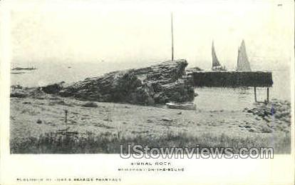 Signal Rock - Woodmont, Connecticut CT Postcard