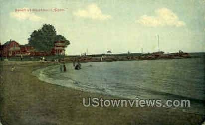 Beach - Woodmont, Connecticut CT Postcard