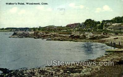 Walker's Point - Woodmont, Connecticut CT Postcard