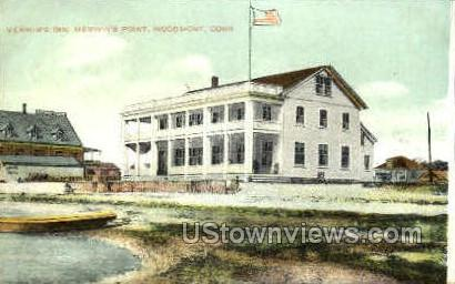 Merwin's Inn - Woodmont, Connecticut CT Postcard