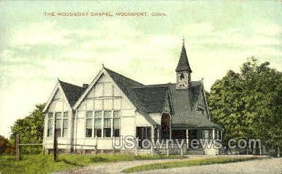 Woodmont Chapel - Connecticut CT Postcard