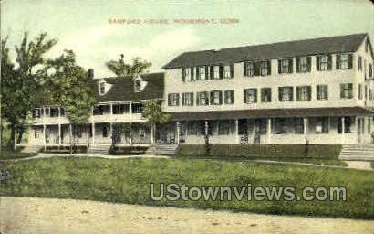 Sanford House - Woodmont, Connecticut CT Postcard