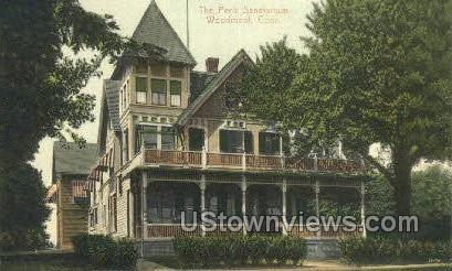 Peck Sanatorium - Woodmont, Connecticut CT Postcard