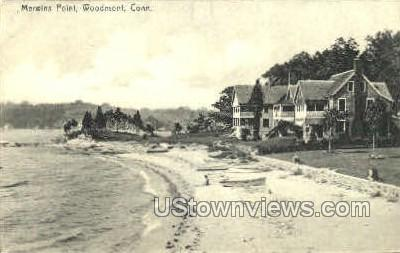 Merwins Point - Woodmont, Connecticut CT Postcard