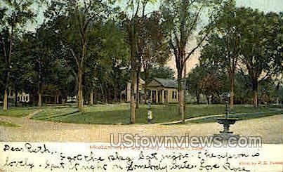 Windham Green - Connecticut CT Postcard